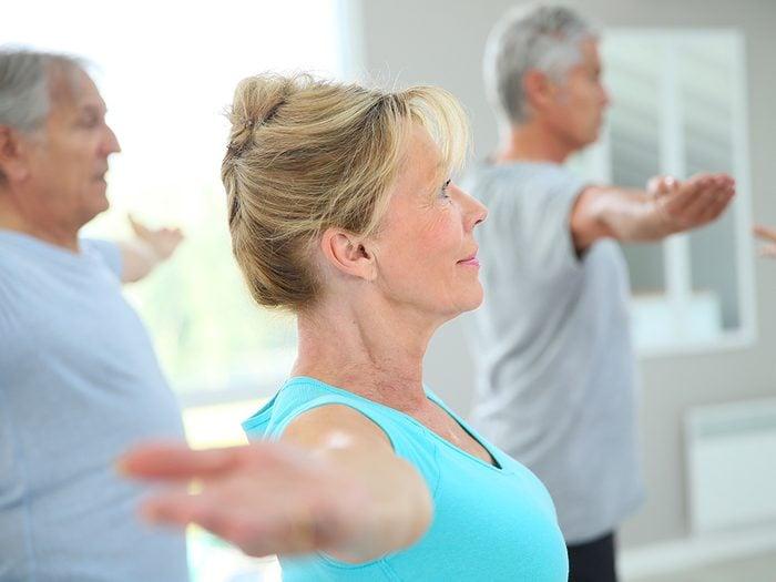 Commencer l'exercice après 60 ans, c'est possible.
