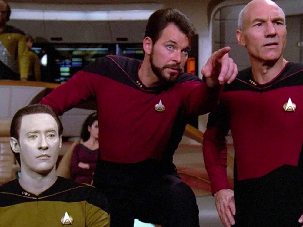 Star Trek: la Nouvelle Génération, est l'un des films et séries à voir pendant le confinement.
