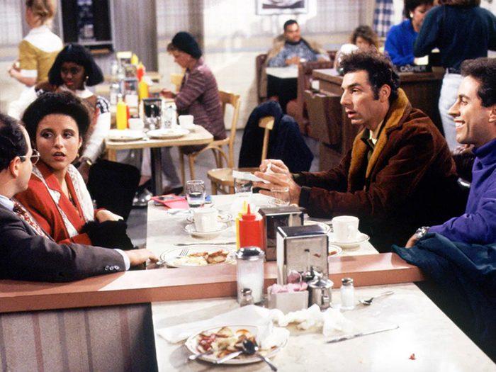 Seinfeld est l'un des films et séries à voir pendant le confinement.