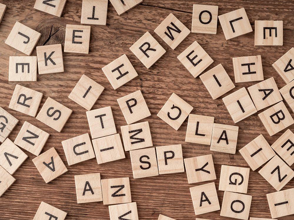 L'anagramme est l'un des jeux de mots de notre enfance.