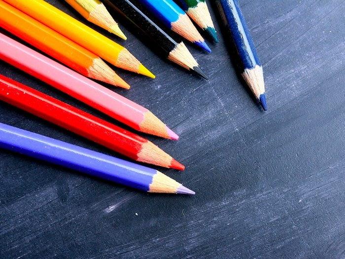 Utiliser de la couleur pour entretenir la mémoire et ne pas oublier.