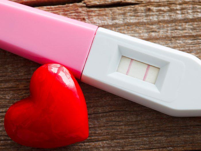 Sexe pendant la quarantaine peut devenir vraiment ennuyeux si vous essayez d'avoir un bébé.