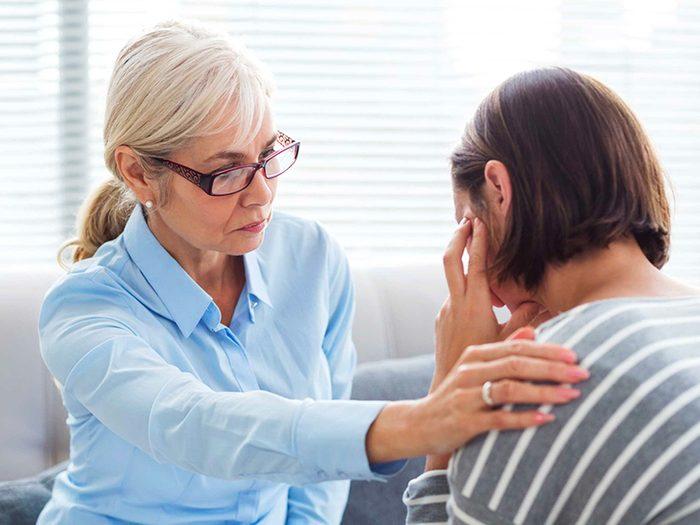 Reconnaître l'importance de notre santé mentale pour vivre plus vieux.