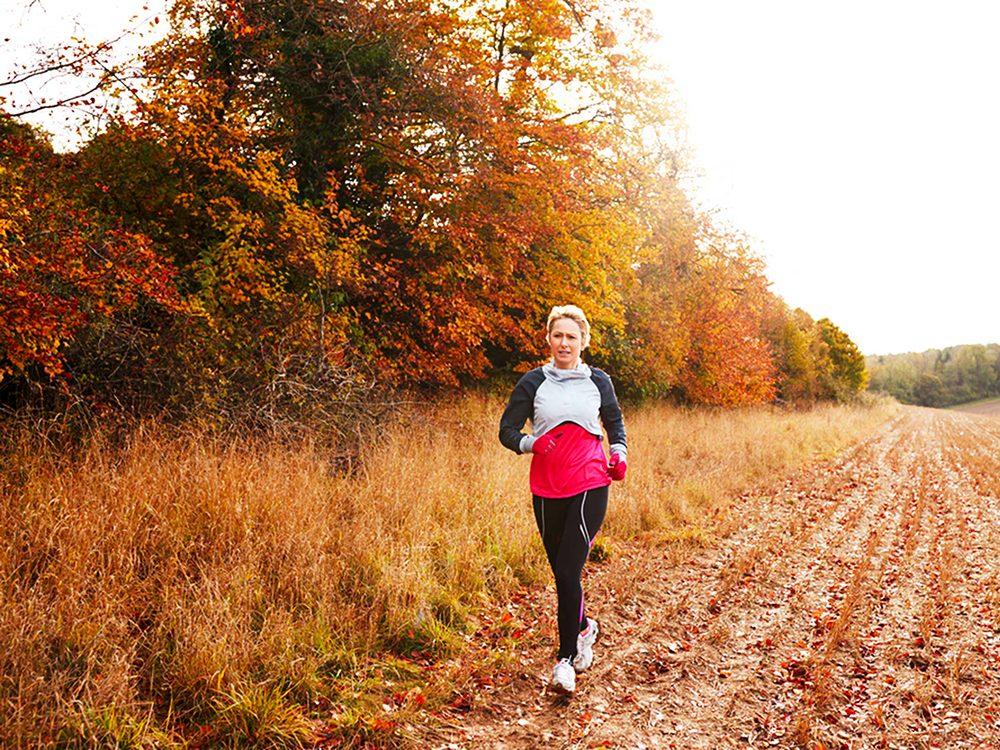 Faites plus d'exercice pour vivre plus vieux.