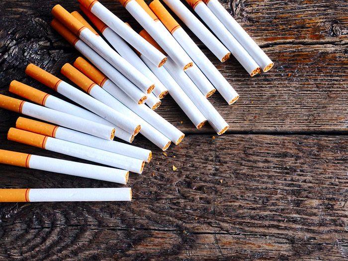 Fumez moins pour vivre plus vieux.