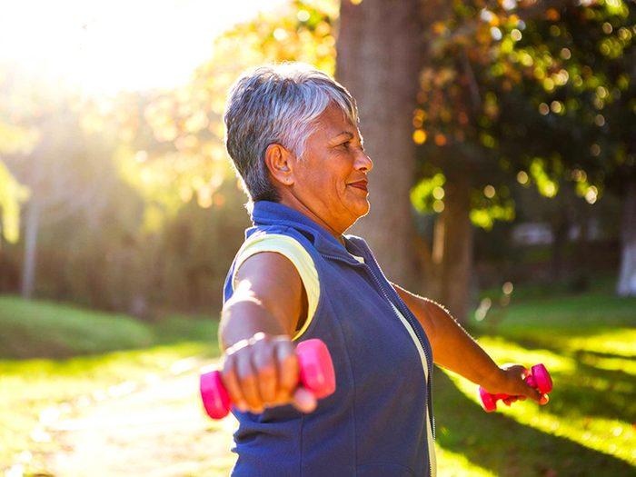 Entraînez-vous de manière plus efficace pour vivre plus vieux.