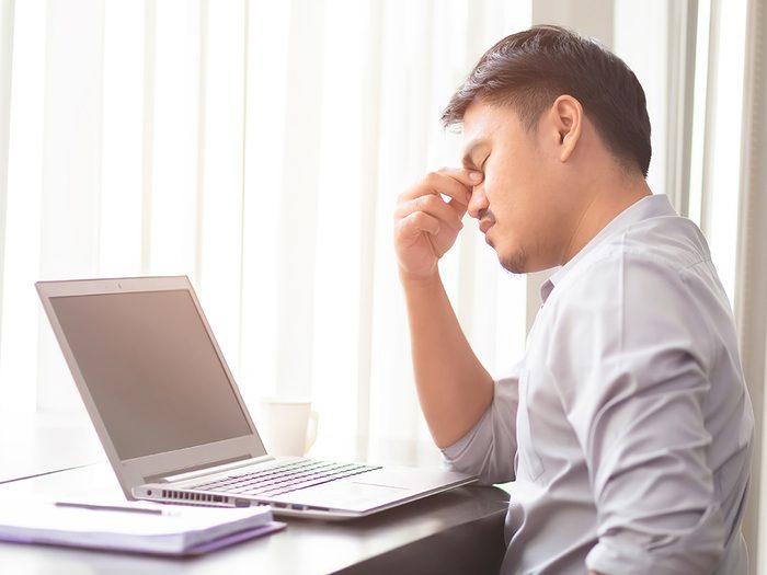 Anxiété et dépression: coronavirus et confinement ne font pas bon ménage.