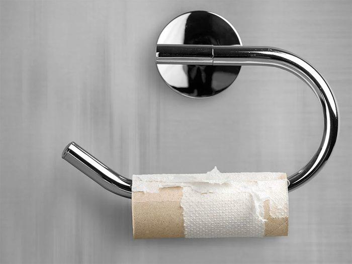 Quel article ménager pour remplacer le papier de toilette?
