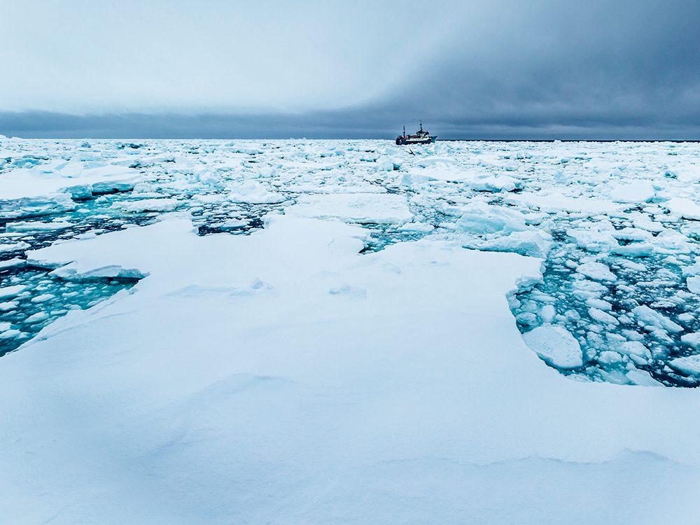 Bateaux de pêche: traque aux pirates dans l'Antarctique.