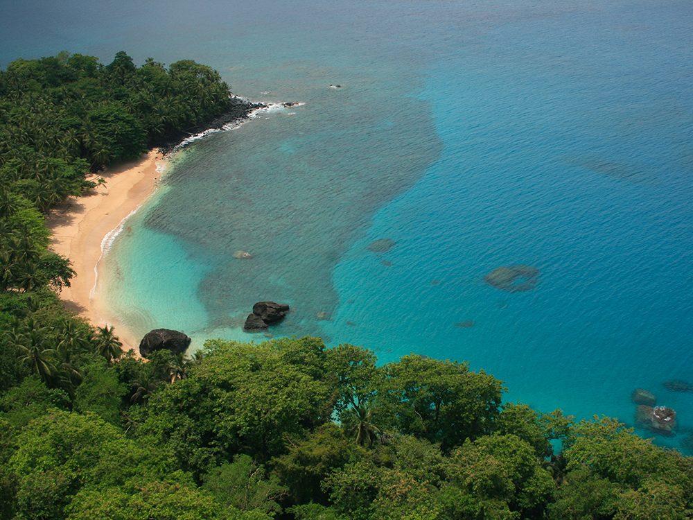 Bateaux de pêche: Sao Tomé-et-Principe.