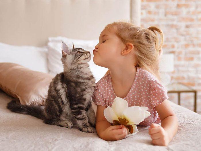 Votre chien ou votre chat peuvent perdre patience.