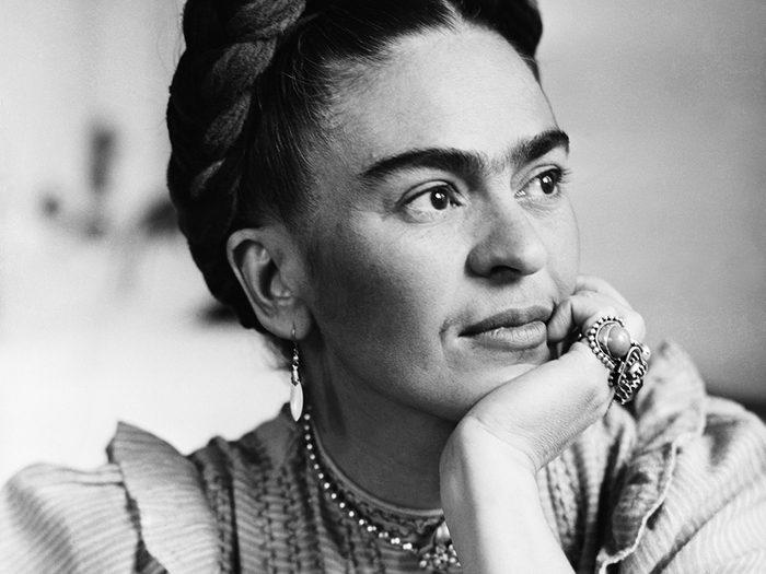 Frida Kahlo fait partie des génies ont marqué l'histoire alors qu'ils étaient en quarantaine.