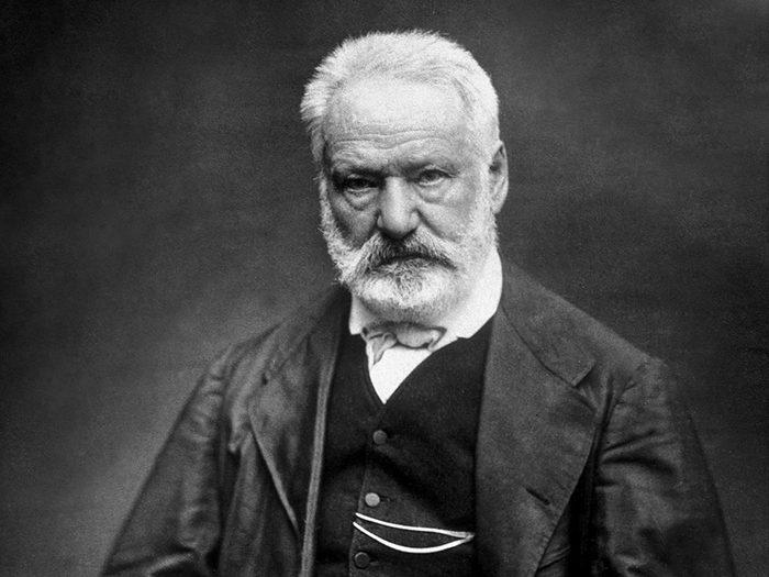 Victor Hugo est l'un des génies ont marqué l'histoire alors qu'ils étaient en quarantaine.
