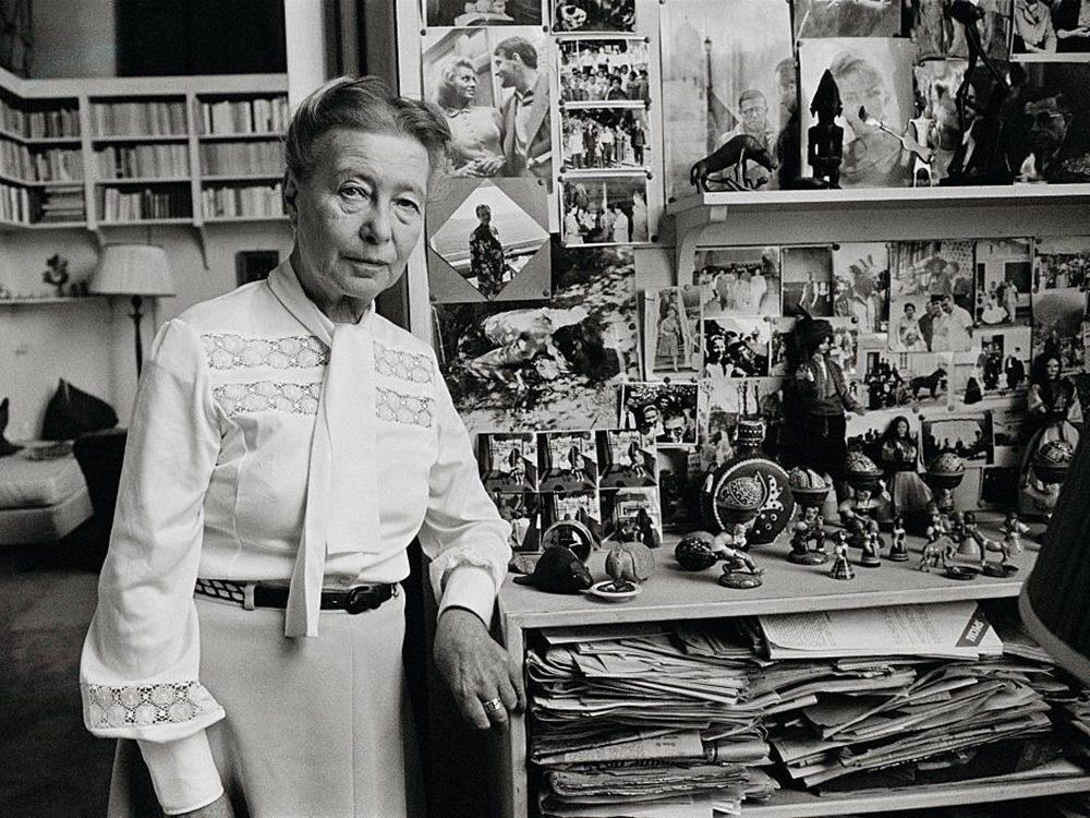 Simone de Beauvoir fait partie des génies ont marqué l'histoire alors qu'ils étaient en quarantaine.