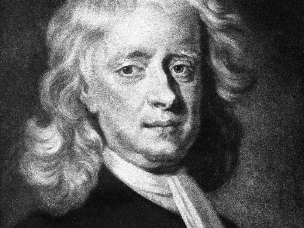 Isaac Newton est l'un des génies ont marqué l'histoire alors qu'ils étaient en quarantaine.