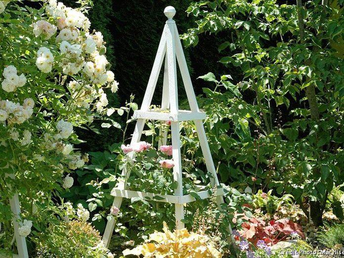 Un jardin de rêve avec un charme à l'anglaise.