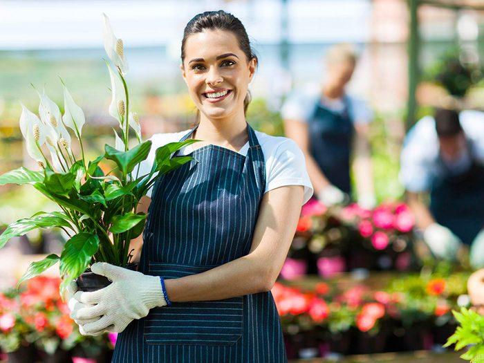 Le jardinage donne de l'espoir en l'avenir.