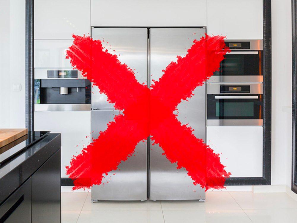 N'utilisez pas de lingettes antibactériennes pour essuyer toute la cuisine.