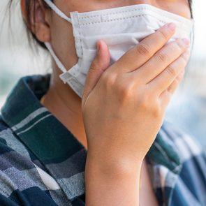 Coronavirus: les masques de protection.