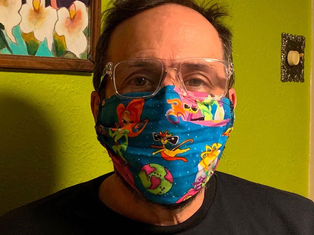 Porter un masque de protection mode d'emploi.