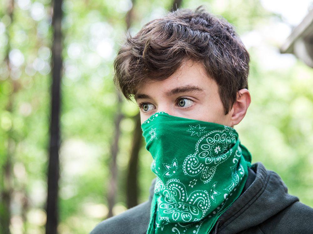 Pour que votre masque de protection soit le plus efficace possible.