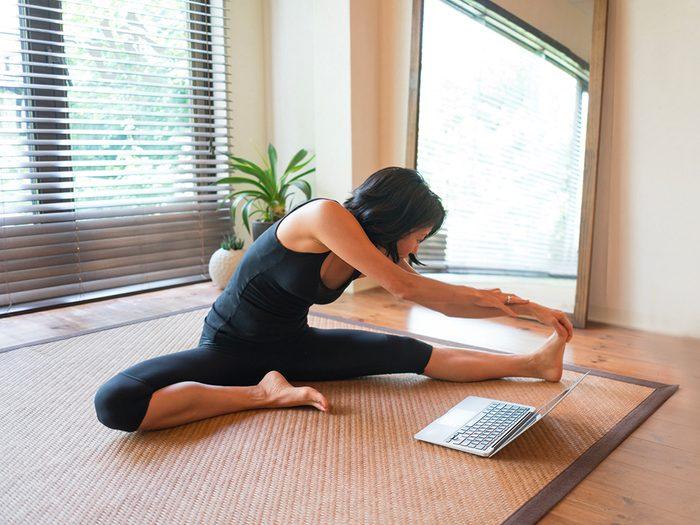Pour éviter de prendre du poids, évaluez soigneusement les entraînements en ligne.