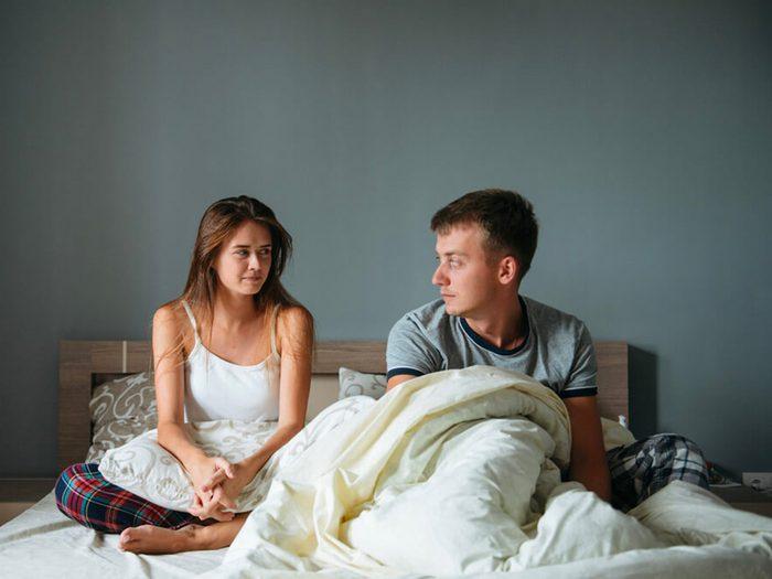 Thérapie de couple: mon mari veut toujours faire l'amour.