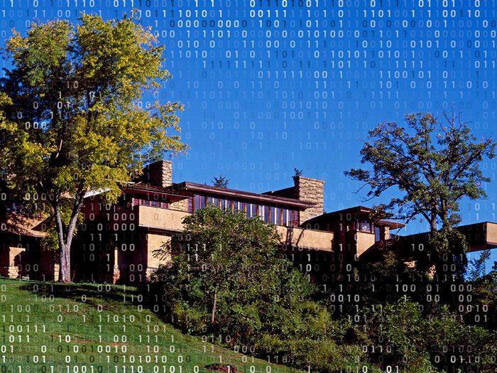 Voyage virtuel: visitez le domaine personnel de Frank Lloyd Wright.
