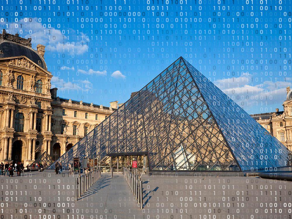 Voyage virtuel: visitez le Louvre depuis votre salon.