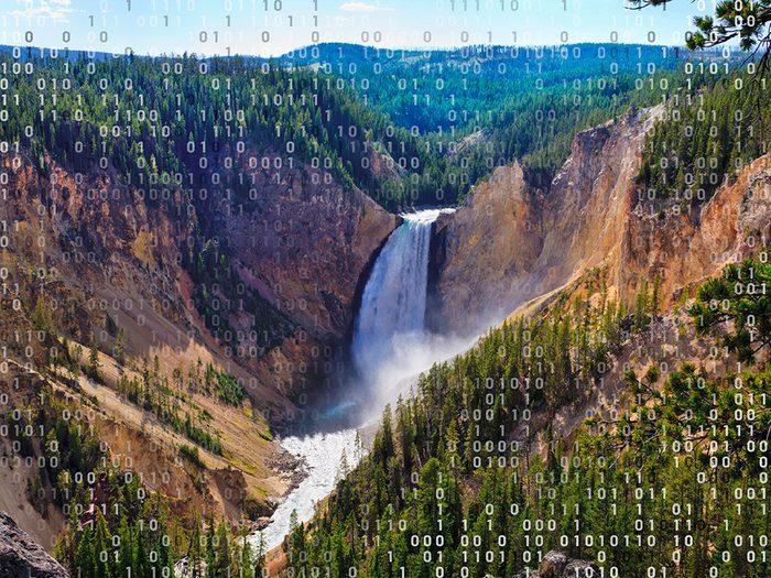 Voyage virtuel en direction du parc National de Yellowstone.