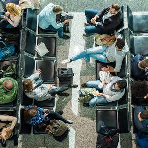 Vous ne verrez plus de foule dans les aéroports.