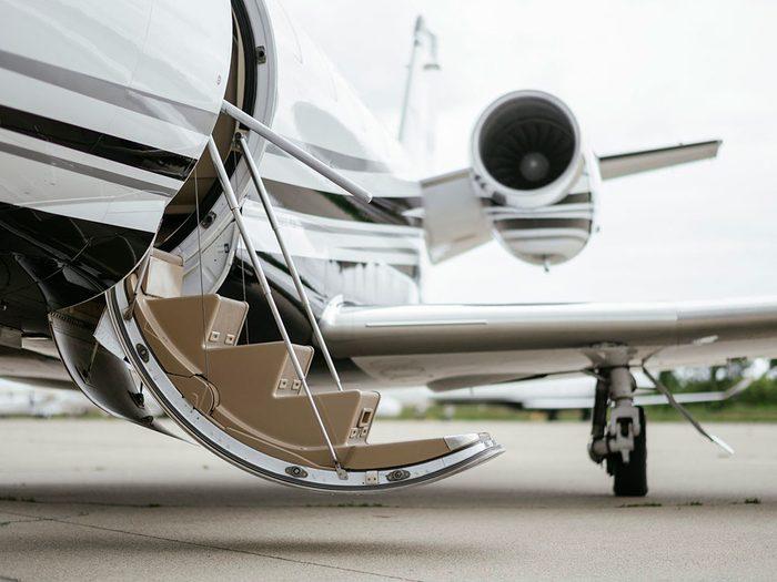 Vous ne verrez plus de jets privés dans les aéroports.