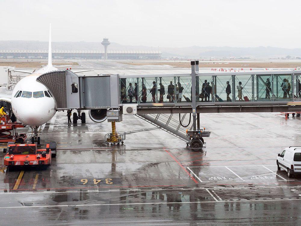Vous ne verrez plus la même rapidité d'exécution dans les aéroports.