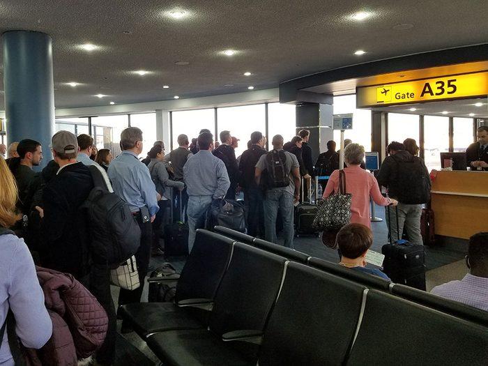 Vous ne verrez plus d'espaces lounge encombrés dans les aéroports.