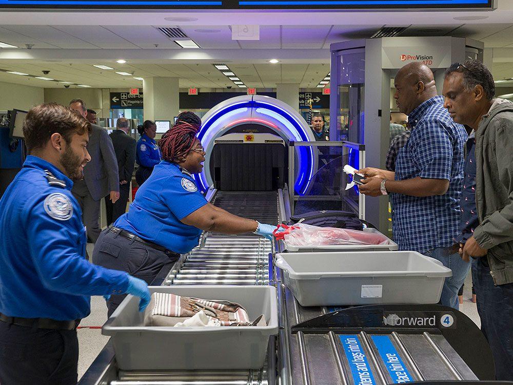 Vous ne verrez plus les employés dans les aéroports.