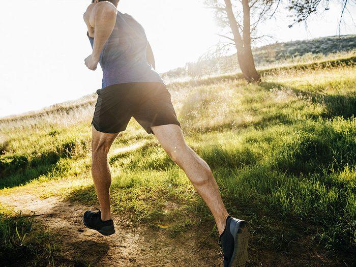 Faites de l'exercice tous les jours pour éviter un burn-out si vous êtes aidant naturel.