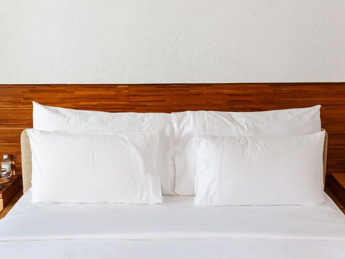 Votre oreiller pourrait être un nid à allergies.