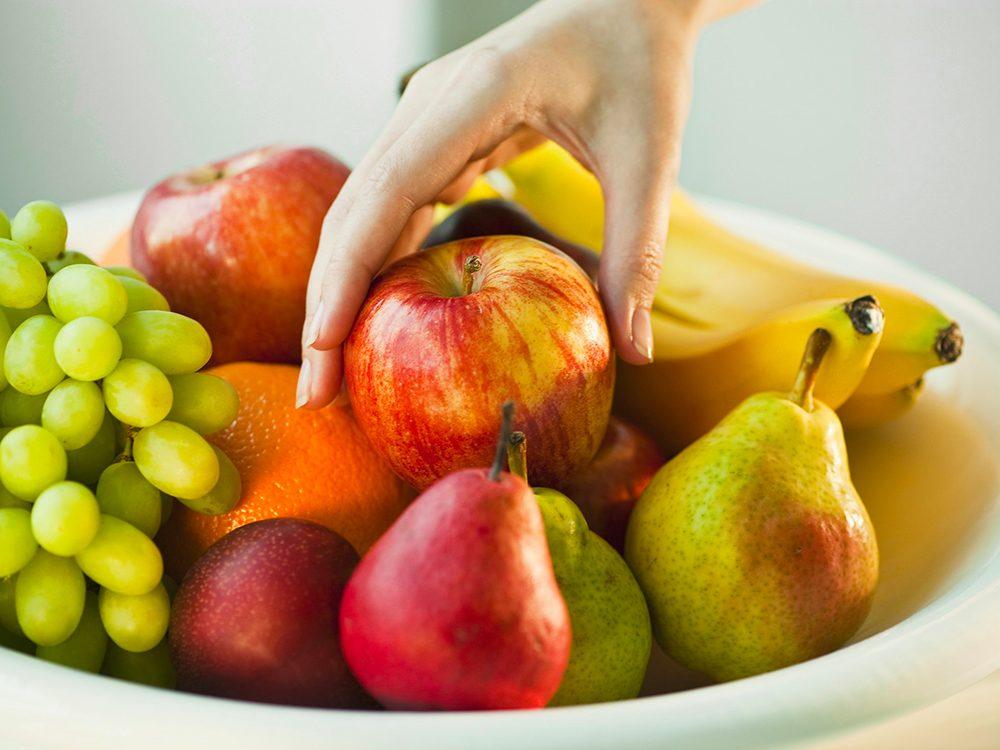 Les fruits pollinisés peuvent provoquer des allergies.