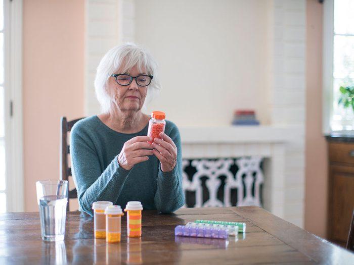 Assurez-vous que vos médicaments traitent vos symptômes d'allergie.