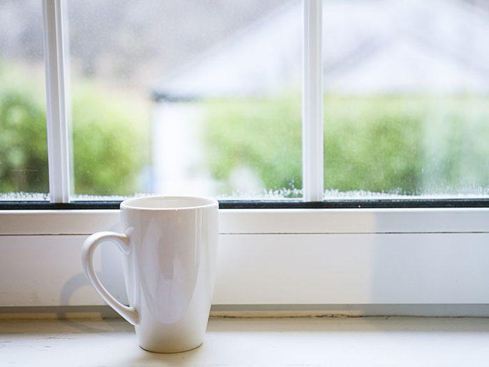 Restez à l'intérieur le matin pour éviter les allergies.