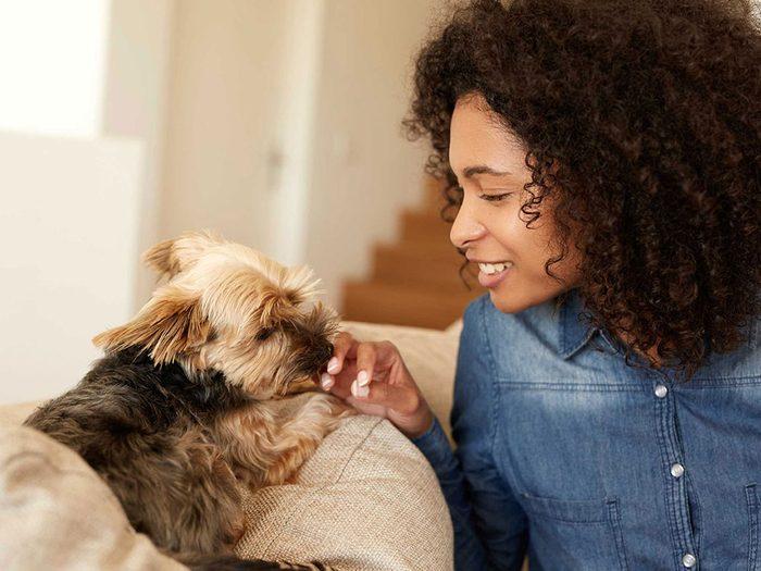 Si vous êtes allergique à votre animal, vous souffrez vraiment.