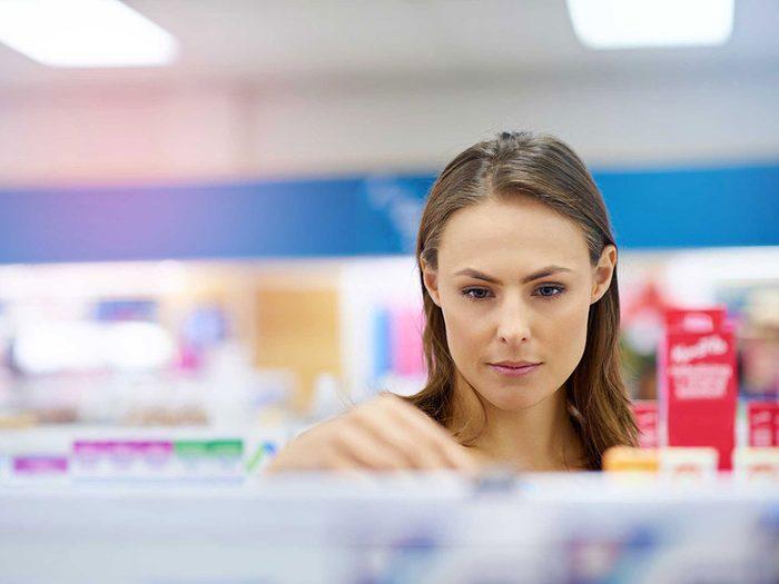 Certains décongestionnants en vente libre contre les allergies sont une perte d'argent.