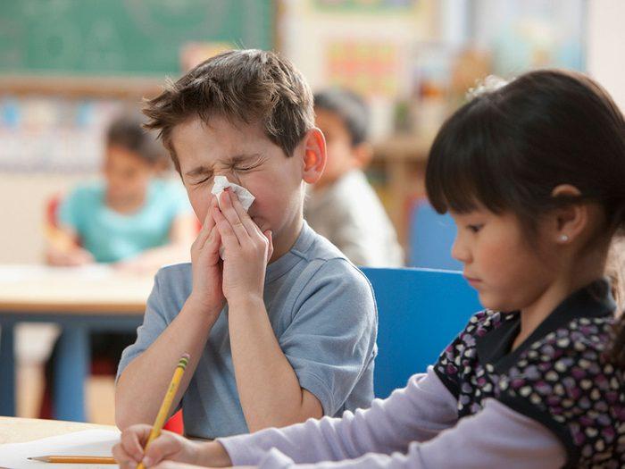 Vos allergies d'adultes existent depuis plus longtemps que vous ne le pensez.