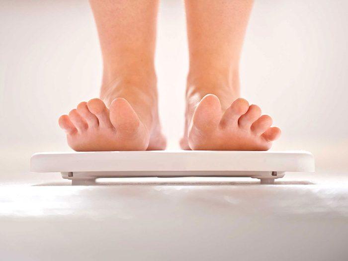 Vous devriez peut-être perdre du poids pour contrer les allergies.
