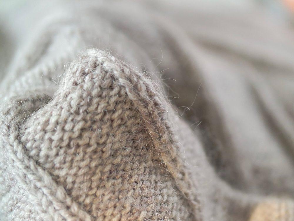 La laine peut provoquer des allergies.