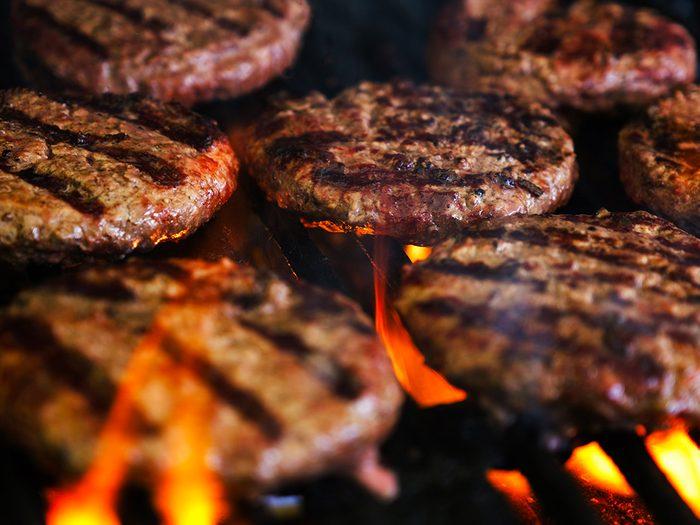 La viande peut provoquer des allergies.