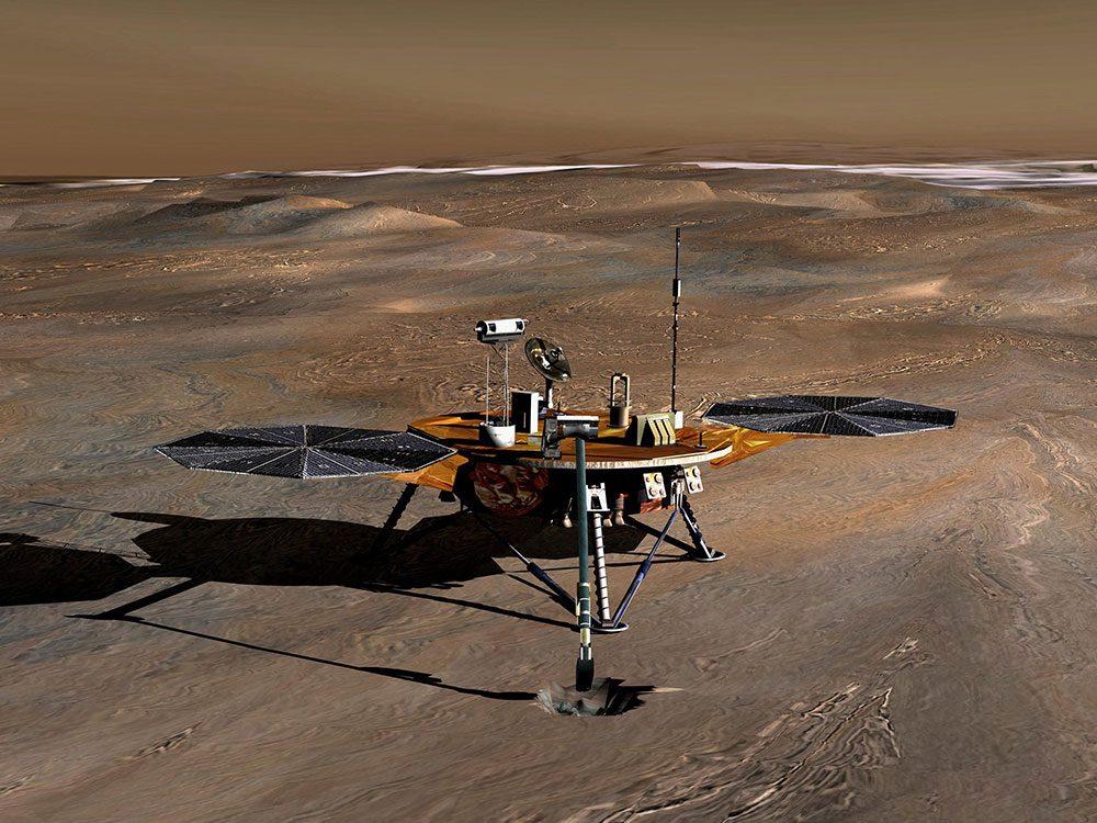 Exploration spatiale: l'astromobile Curiosity à la découverte de Mars.