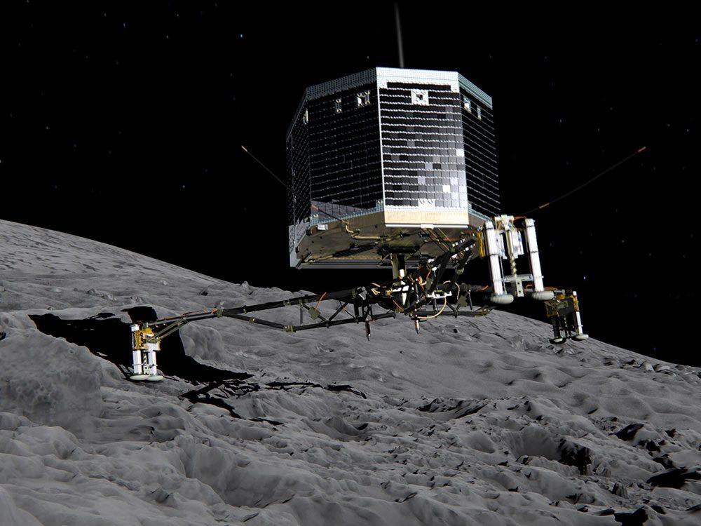 Le premier atterrissage sur une comète est l'une des explorations spatiales les plus marquantes de cette dernière décennies.