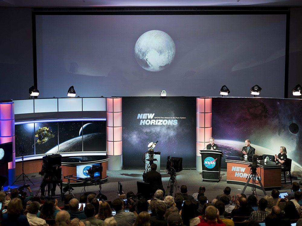 L'exploration spatiale New Horizons parti à la découverte de Pluton.