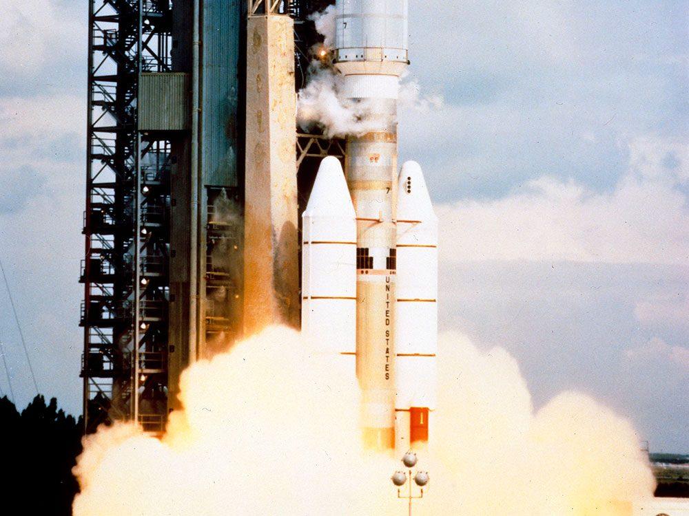 Le programme d'exploration spatiale Voyager.